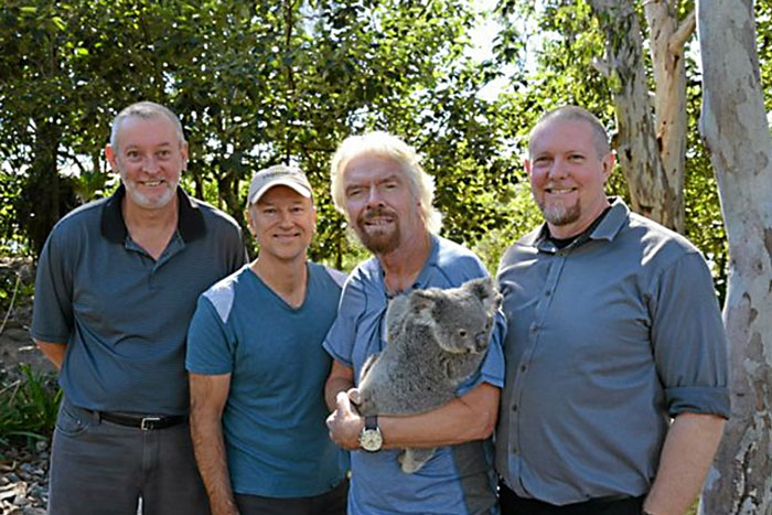 Sir Richard Branson to Save Koalas in Noosa